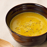 豆乳かぼちゃスープ