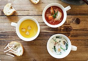 芯からポカポカ♪ほっこり冬スープ9選